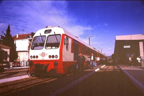 【ギリシャ】Diakopto(ディアコプト)駅の1000mmのIC