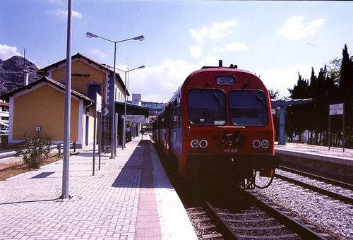 【ギリシャ】カランバカ駅