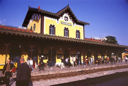 【ギリシャ】ボロス駅舎