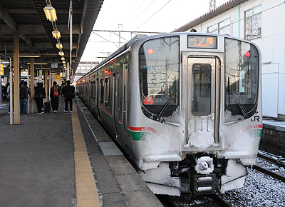 E721(一ノ関駅)