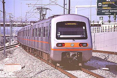 アテネ地下鉄車輌