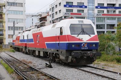 ギリシャ国鉄120型交流電気機関車