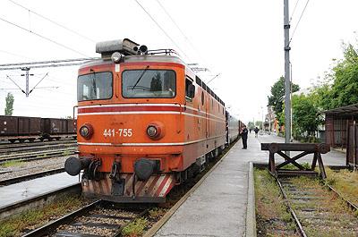 マケドニア国鉄441型交流電気機関車