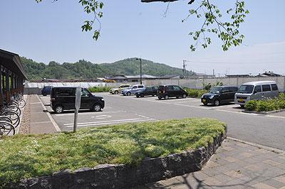 左沢駅駐車場