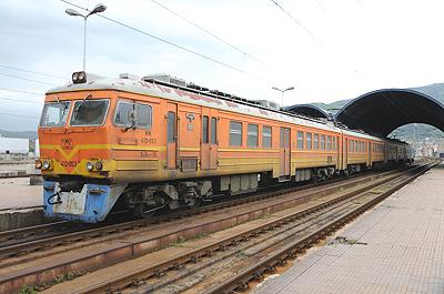 マケドニア国鉄412型交流電車