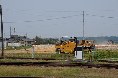 2009年6月のくりはら田園鉄道