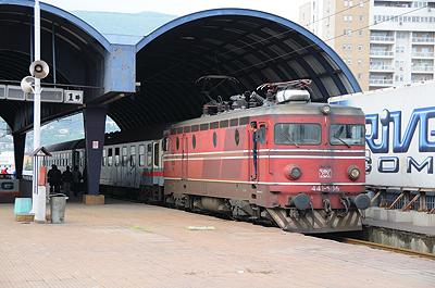 マケドニア鉄道ベオグラード行