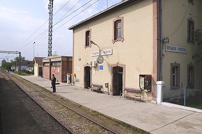セルビア国境駅