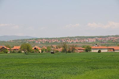 セルビア鉄道車窓
