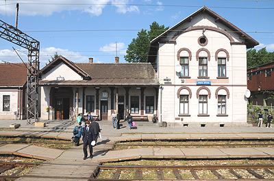 セルビア鉄道の駅