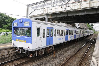 西塩釜駅の103系