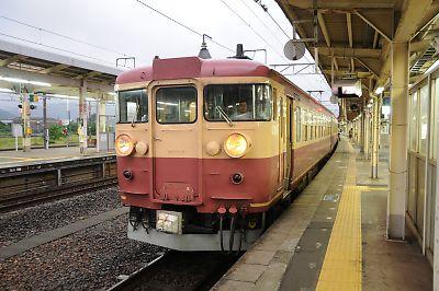北陸本線リバイバルカラー475系