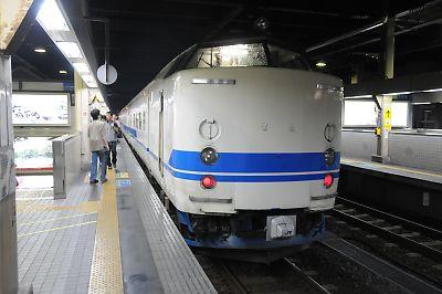 福井駅419系