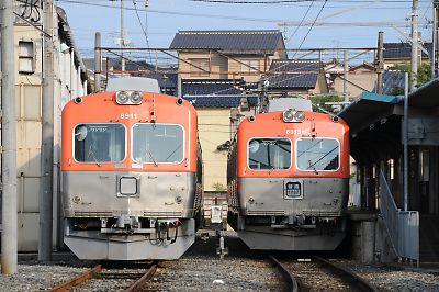 北陸鉄道8000系(内灘駅)