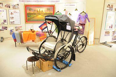 世界の自転車タクシー展(カンボジア)