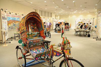 世界の自転車タクシー展(バングラデシュ)