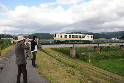 山形鉄道最上川鉄橋