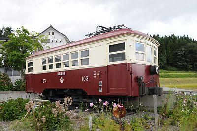 T_山形交通旧三山線モハ103保存車