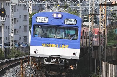 仙石線103系(苦竹駅)