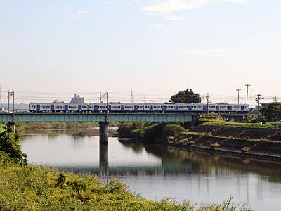 仙石線103系(七北田川鉄橋)