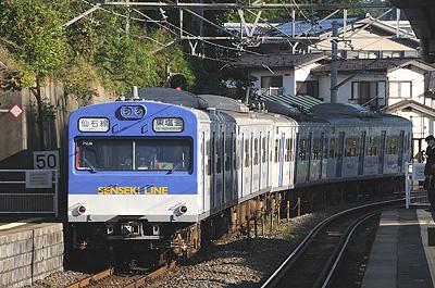 仙石線の103系(下馬駅)