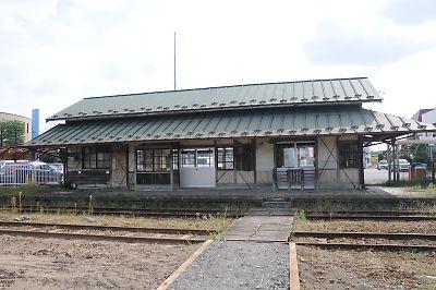 くりはら田園鉄道・旧沢辺駅(H21.9.18)