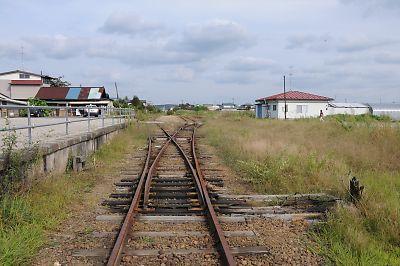 くりはら田園鉄道・旧栗駒駅(H21.9.18)