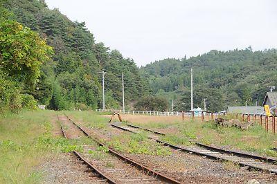 くりはら田園鉄道・旧細倉駅(H21.9.18)