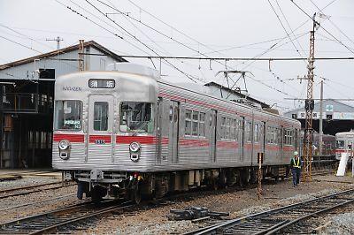 須坂車庫の3500系
