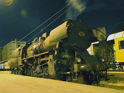 セルビア国鉄蒸気機関車