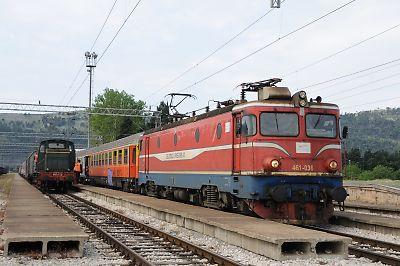モンテネグロ国鉄461型機関車