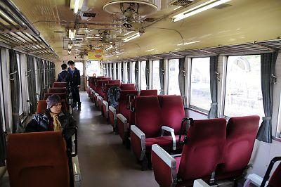 くま川鉄道KT31車内