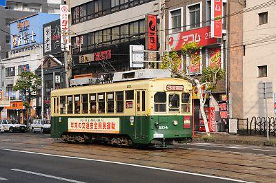長崎の路面電車