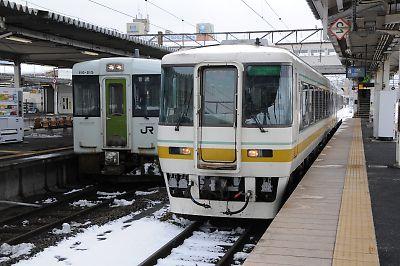 会津鉄道キハ8500(会津若松駅)