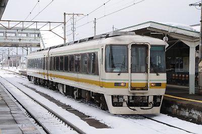 会津鉄道キハ8500(喜多方駅)