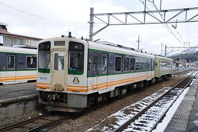 会津鉄道(会津田島駅)