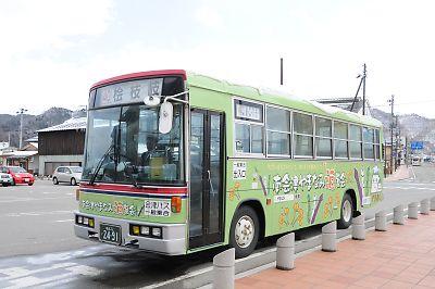 会津田島発桧枝岐行バス