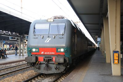 国際列車ベネチア号(ベネチア・メストレ駅)