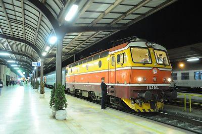 国際列車412列車(ベオグッラード発ベネチア行)