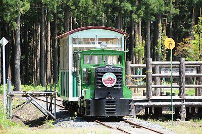真室川温泉トロッコ列車