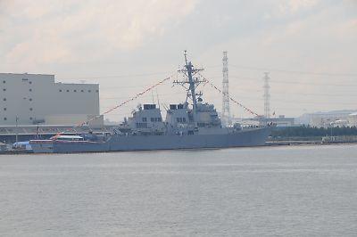 護衛艦「すずなみ」体験航海