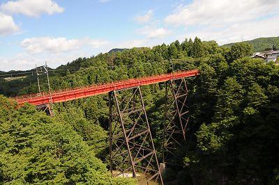 仙山線・第二広瀬川橋梁(熊ヶ根鉄橋)
