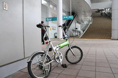 〔輪行〕秋田駅到着T_dsc_7564