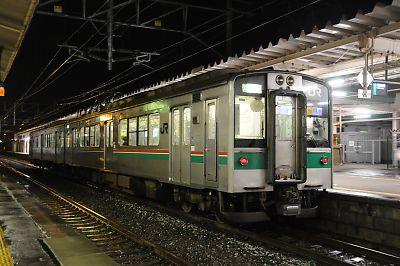 701系100番代(一ノ関駅)