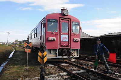 くりはら田園鉄道(動態保存車両)KD95型