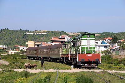 アルバニアの鉄道