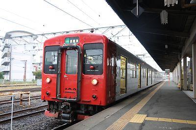 西唐津駅103系