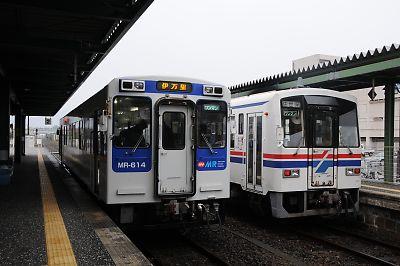 伊万里駅MR600MR200