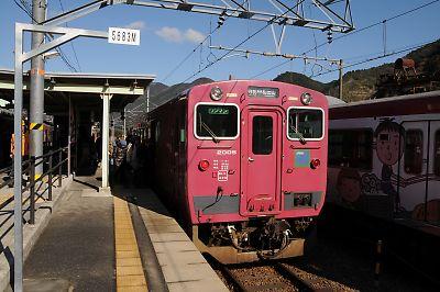 キハ41(寺前駅)
