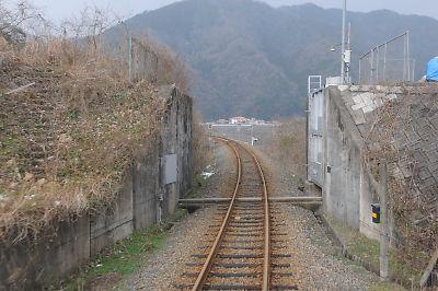 川本陸閘門